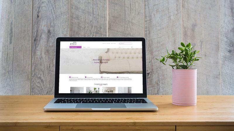 Wedesign personalizat - magazin online Cepi Mobila