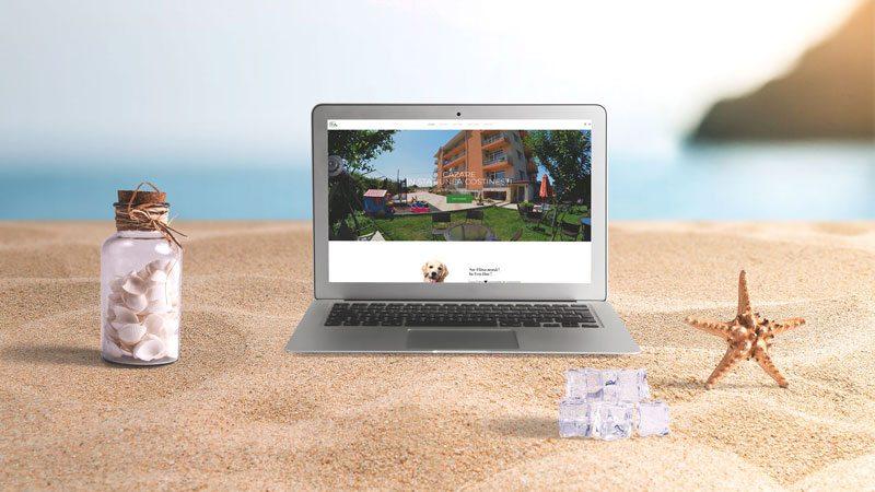 Wedesign personalizat - site de prezentare Casa Eden Costinești