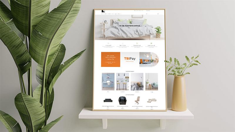 Wedesign personalizat - Magazin online EVG Mobila