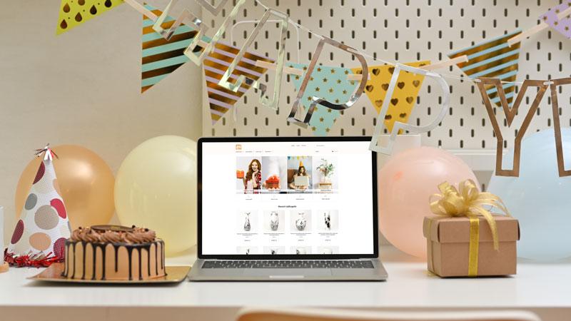 Wedesign personalizat - Magazin online 4Walls